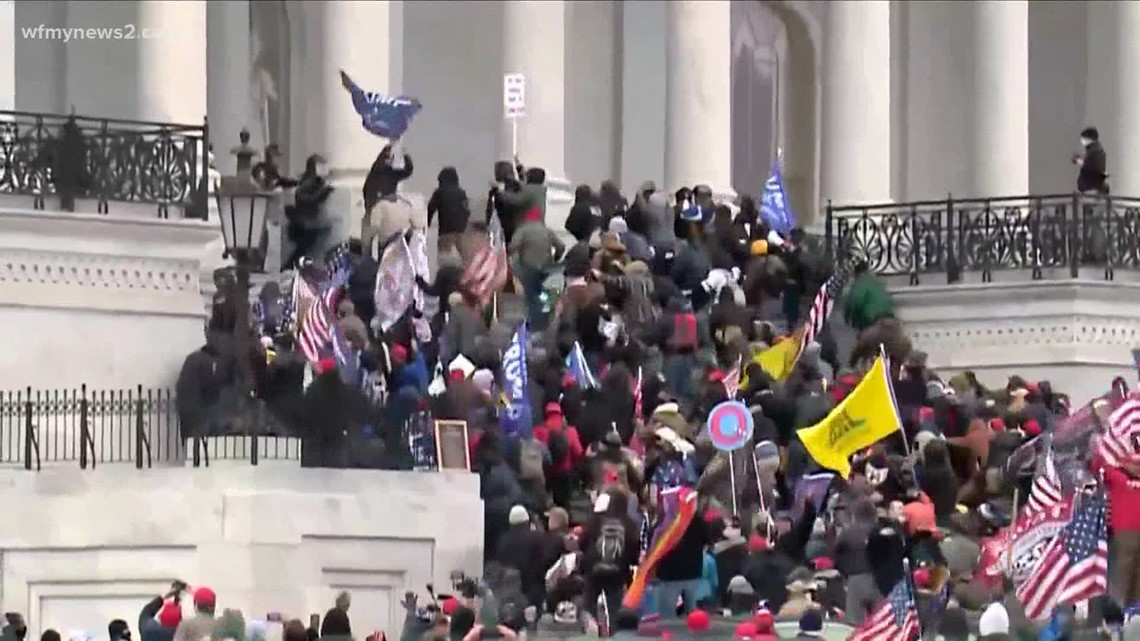 Lawmakers, others share stunning stories from DC as rioters stormed the U.S. Capitol