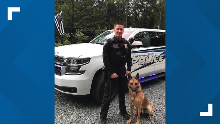 Kernersville officer who was shot three times has 'taken a turn for the better'
