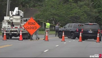 Pedestrian Dies After Vehicle Crashes Into Utility Pole