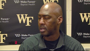 'We're taking those steps..we just need to close it out':  Wake Forest Head Coach Danny Manning ahead of UNC matchup
