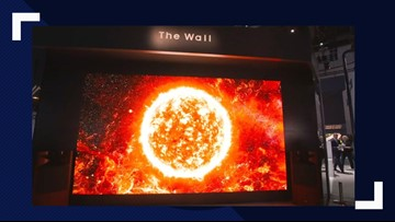 'The Wall': Samsung Unveils a 219-Inch TV