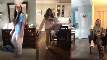 Page women's soccer team kicks around toilet paper roll in awesome video