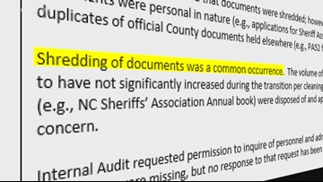 Audit Report Clears Up 'War of Words' Between Guilford Co. Sheriff Rogers and Former Sheriff Barnes