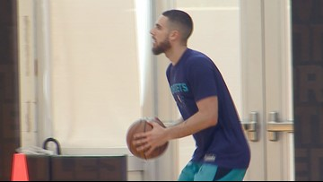 Former UNCG Star Francis Alonso Attends Hornets Pre-Draft Workout
