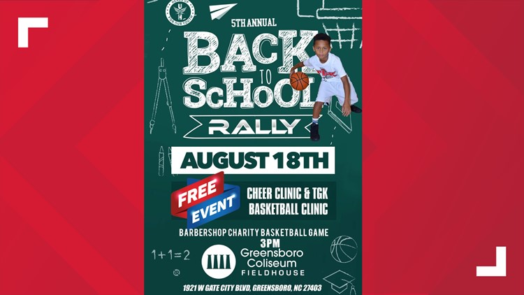 Back to School Rally Gets Kids Fit for School