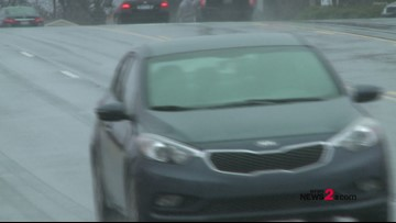 Triad Drivers Missed The Memo: Wipers On, Headlights On; It's The Law!