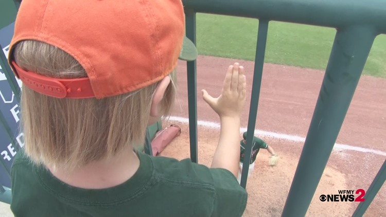 A father and son's bond at Hoppers games