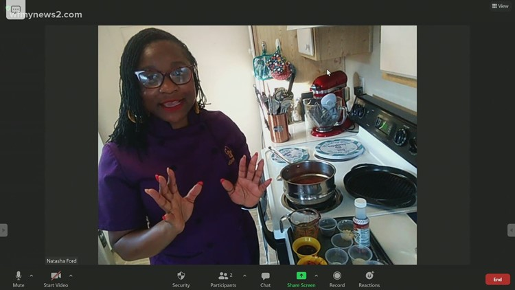 Barbadian BBQ Burgers - Part One: In the Virtual News 2 Kitchen