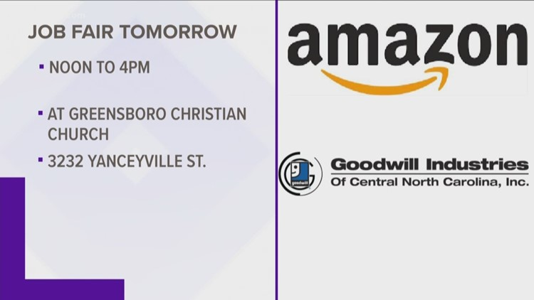 Amazon To Be Featured Employer At Greensboro Goodwill Job Fair