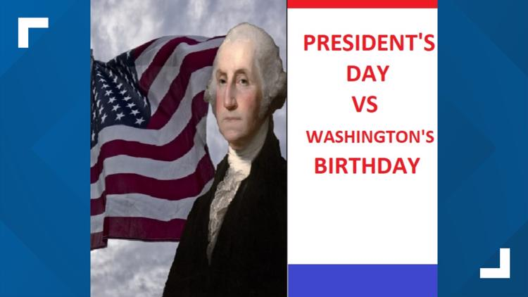 Ummm...It's NOT Really President's Day.