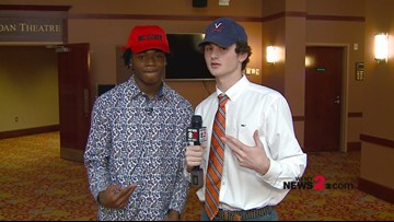 Hoops To Reporting:  Greensboro Day's Cam Hayes & Carson McCorkle Interview Each Other After Signing Day
