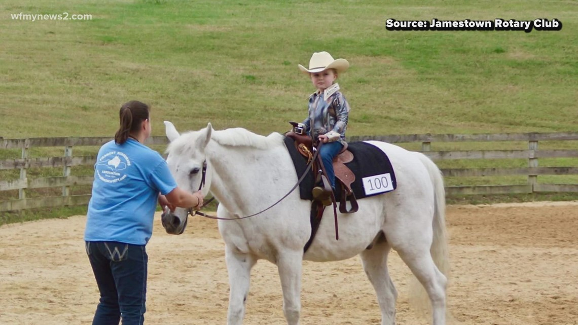 Annual Jamestown Horse Show rides into town