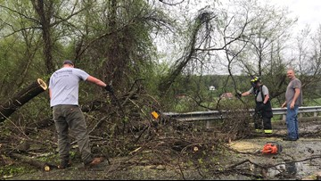 Severe Weather Outbreak Brings Damage, Power Outages, Flooding To The Piedmont Triad