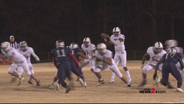 East Forsyth Eagles take on The Grimsley Whirlies (1st Half Highlights)