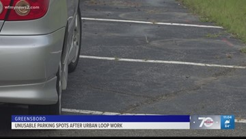 Neighbors Frustrated After Urban Loop Construction Ate Up Space In Their Parking Lot