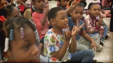 The Read 2 Succeed Train Rolls Into Washington Montessori In Greensboro