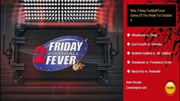 Drum Roll: Wheatmore vs Trinity is the October 4 Friday Football Fever 'Game of the Week'