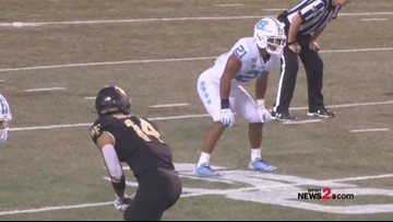 Behind-the-Scenes: Parents watch sons face off at UNC- Wake game