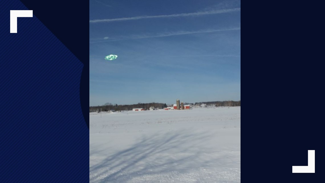 It Was A Spiritual Experience': Liberty Man Says He Captured A UFO