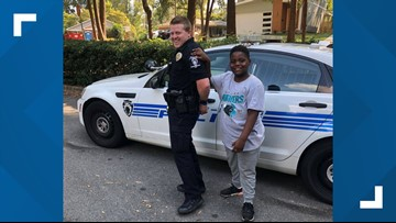 Boy Who Wants To Be A Cop Gets To Handcuff NC Officer