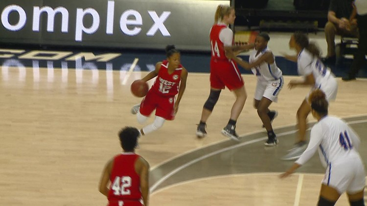 East-West Women's All-Star Basketball Game Features Three Triad High School Alums
