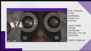 What do some of these common eye symptoms mean?