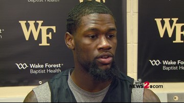 'You have to stay focused and locked in for 40 minutes':  Chaundee Brown talking ahead game vs. UNC