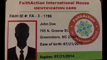 Faith Action ID Cards Now Recognized By Guilford County Sherrif's Office