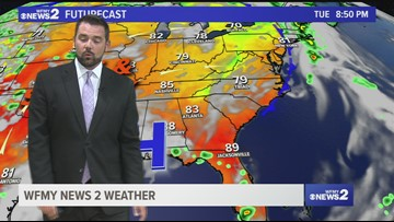 Tim Buckley's Tuesday Evening Forecast