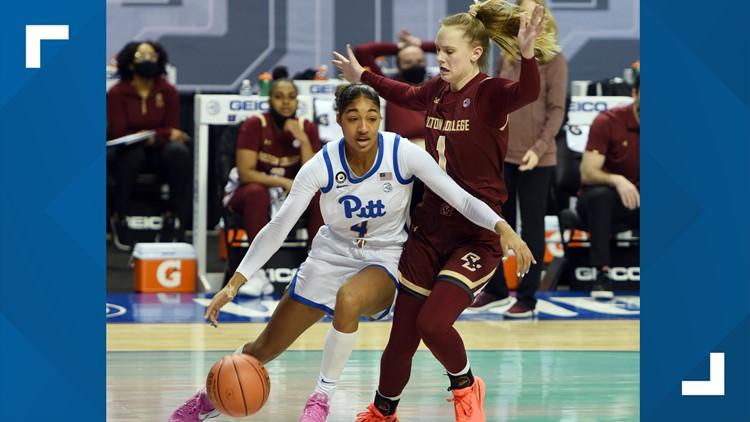 Boston College tops Pitt in ACC women's opener 67-56