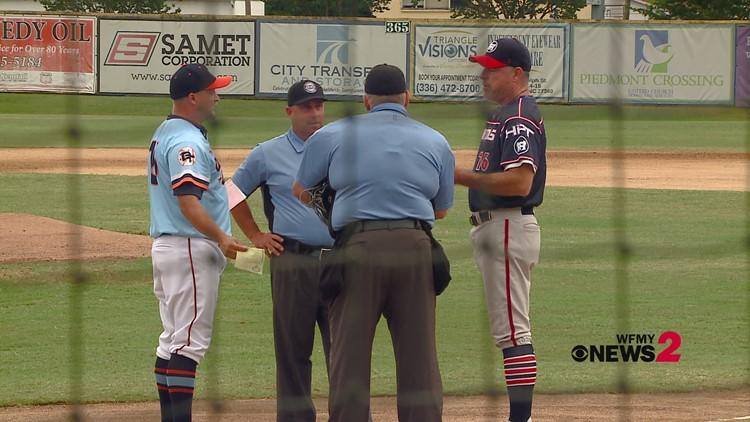Carolina Disco Turkeys vs. High Point-Thomasville HiToms Baseball Matchup