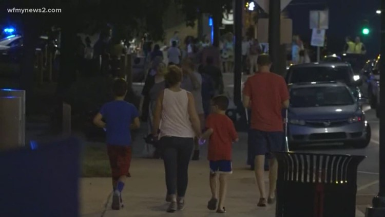 Fun Fourth Fireworks Rescheduled In Greensboro Wfmynews2com