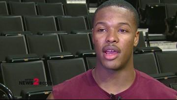 Talking hoops with Walkertown HS alum & Virginia Tech freshman Jalen Cone