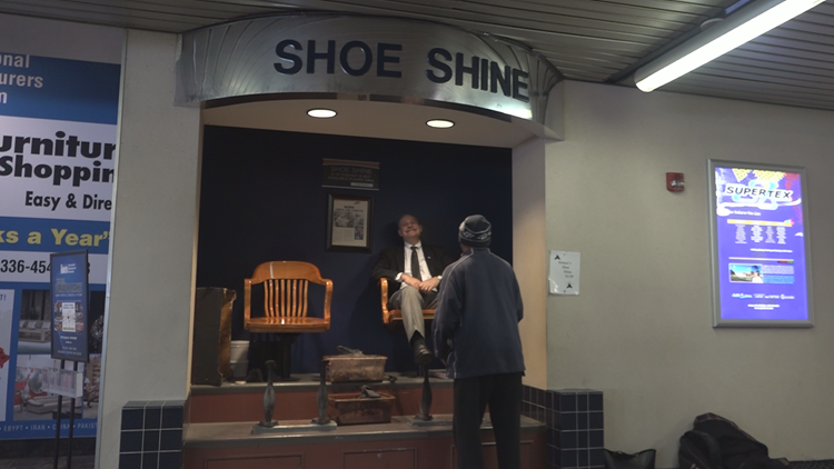 'If These Shoes Could Talk, They'd Say Thank You' | The Half-Century Legacy Of Shoe-Shining at a Triad Airport