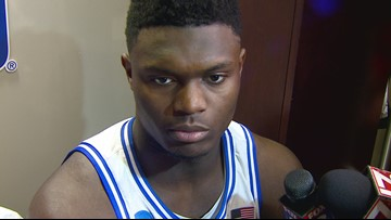 Postgame Interview With Duke's Zion Williamson After The Blue Devils Win Over NDSU