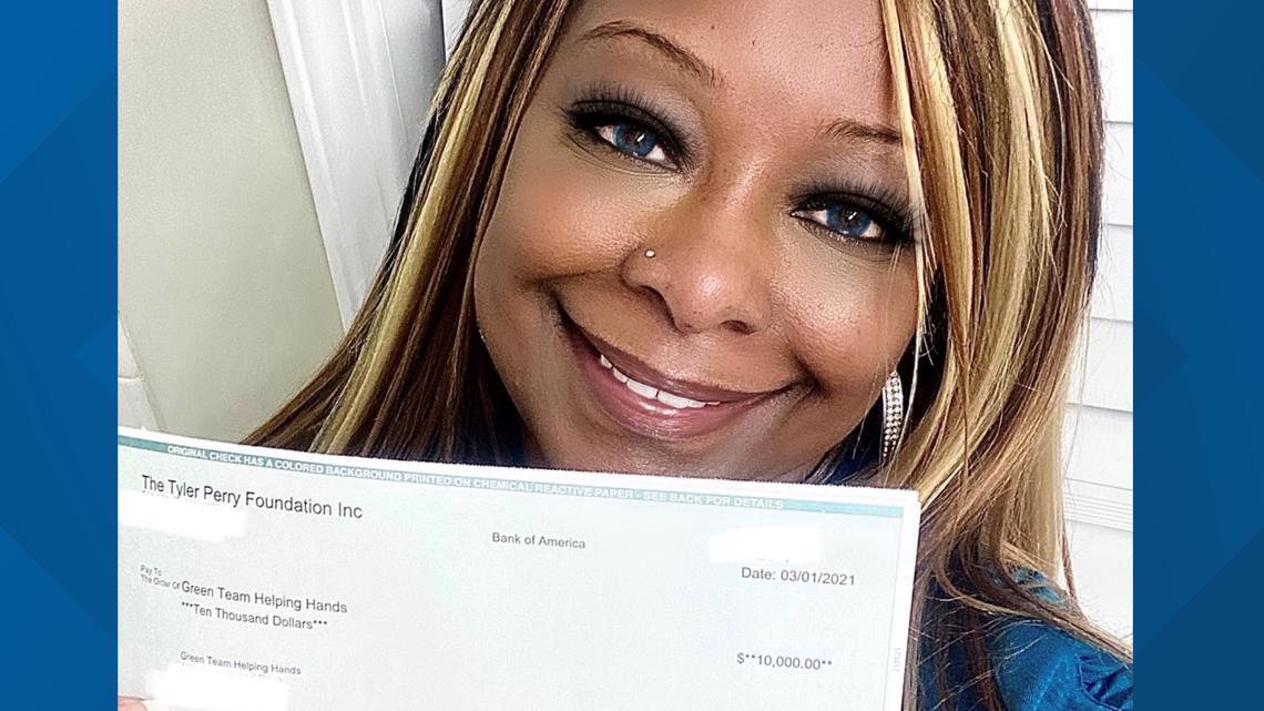 Greensboro nonprofit gets a  $10K check from the Tyler Perry Foundation!