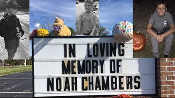 Benefit ride for Noah Chambers family