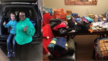 Second-Grader Collects Over 300 Items In 12 Days For Triad Homeless This Christmas