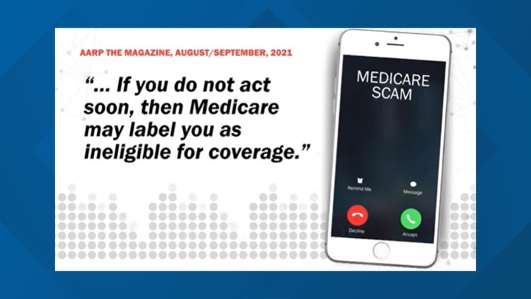 Medicare is calling. Nope. Medicare doesn't call you out of the blue.
