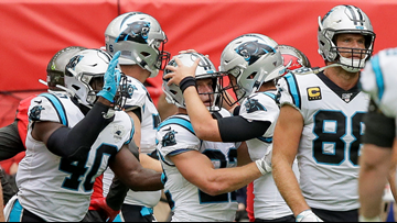 'Pip Pip Cheerio!' Panthers Hold Off Tampa Bay 37-26