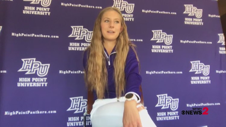 High Point runner doesn't let her circumstances define her