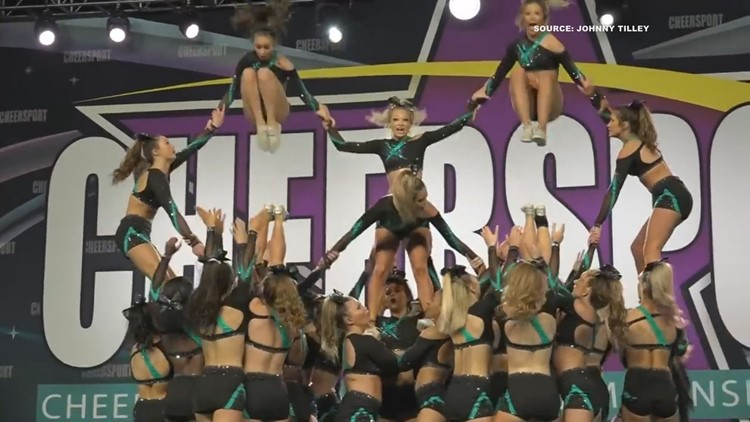 Four 2 Five: Winning cheer team turns to virtual practices before World Championship