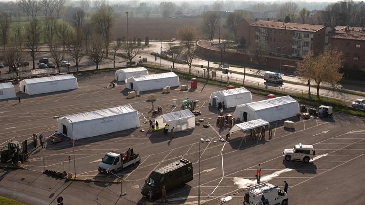 Emergency Field Hospital Italy Samaritan's Purse