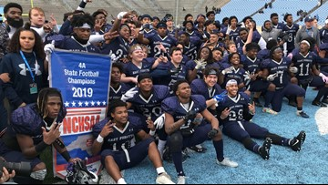 East Forsyth Eagles win second straight football State Title
