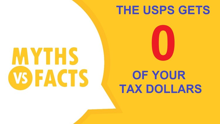 Did you know? The Post Office isn't funded by your tax dollars