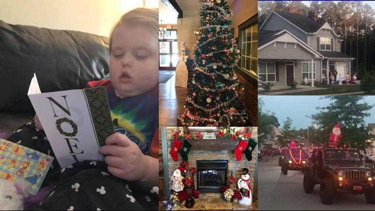 Christmas Comes Early For 5-Year-Old Fort Bragg Girl With Terminal Brain Cancer