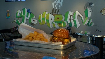 'Labor Inducer' Burger Has Moms-To-Be Lining Up For A Bite
