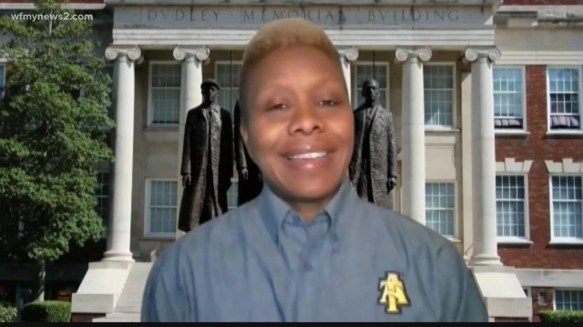 North Carolina A&T responds to Kamala Harris making history