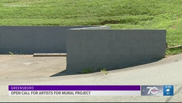 City of Greensboro On the Hunt for Artists To Design and Paint Mural Project