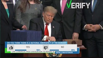 Verify: Can Congress Stop President Trump's National Emergency Order?